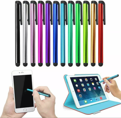 2x1 Stylus Pen iPad iPod Touch iPhone Samsung Tablet Tactil