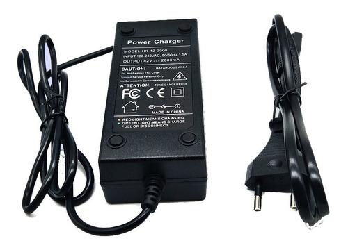 Cargador Batería Litio Ion 36v 1,5 A Ideal Bici Eléctrica