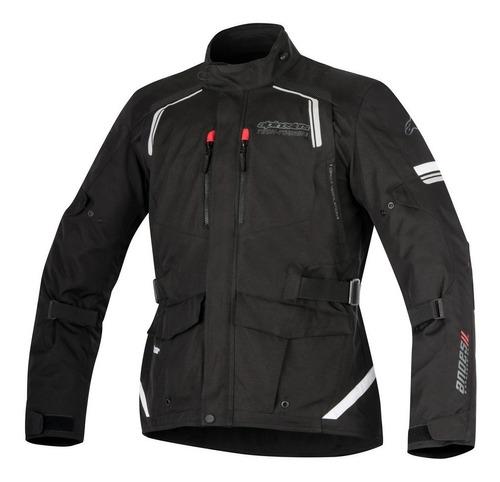 Jaqueta Impermeavel Moto Alpinestars Andes V2 Preto Xl / Gg