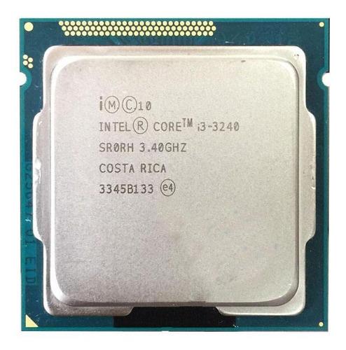 Processador Gamer Intel Core I3-3240 Cm8063701137900 De 2 Núcleos E 3.4ghz De Frequência Com Gráfica Integrada