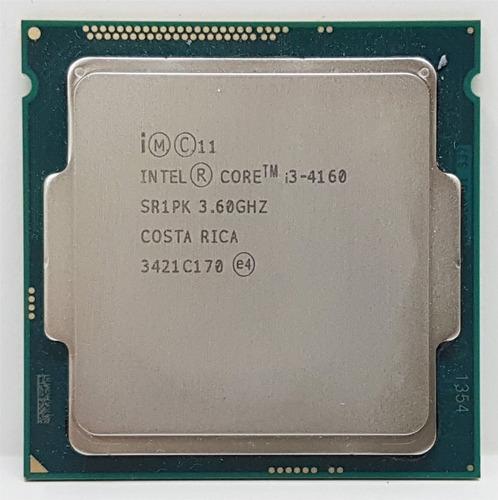 Processador Gamer Intel Core I3-4160 Bx80646i34160 De 2 Núcleos E 3.6ghz De Frequência Com Gráfica Integrada