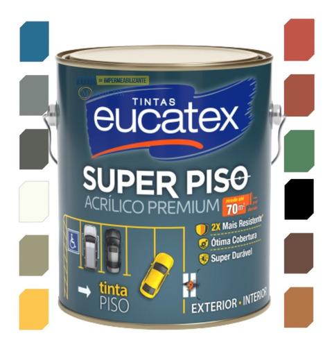 Tinta Piso Eucatex 3, 6 L Premium Externo