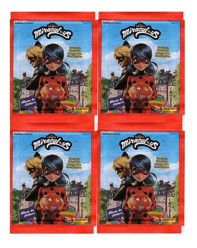 Kit 100 Figurinhas Do Álbum Miraculous Lady Bug 4 (20 Env)