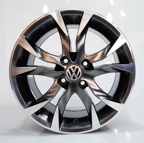 Rodas Scorro Volkswagen Voyage 4x100 Aro 14 (jogo)+bicos