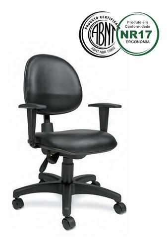 Cadeira Executiva Back System Nr 17 Ergonômica