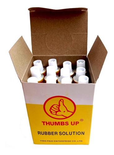 Pegamento Para Parches De Bibicleta Thumbs Up Caja De 12 Und