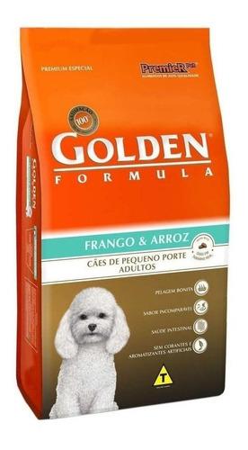 Alimento Golden Premium Especial Formula Para Cachorro Adulto De Raça Pequena Sabor Frango/arroz Em Saco De 3kg