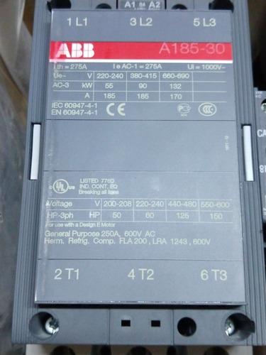 Contactor Abb A185-30-11