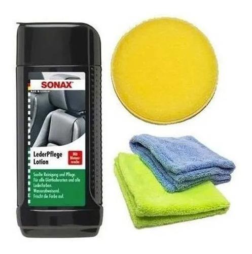 Sonax - Kit Acondicionado / Mantenimiento Cueros - Potenza