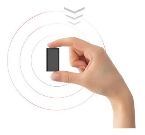 Mini Gravador Voz Som Digital Espiao Espia Micro Escuta