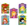 Kit 5 Livros Conto Disney Ilustrado Leitura Infantil Meninas
