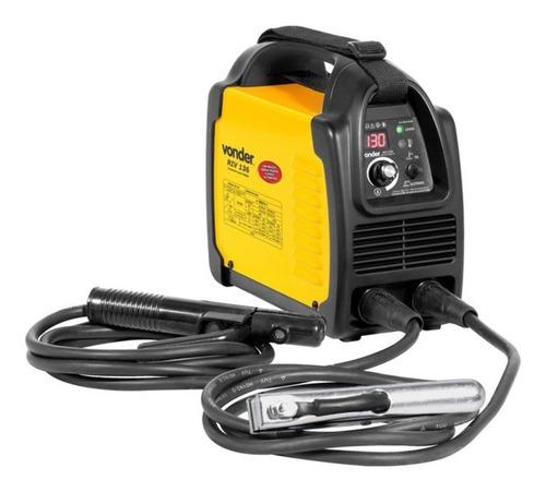 Máquina De Solda Inverter Vonder Riv 136 Amarelo 50hz/60hz 127v/220v