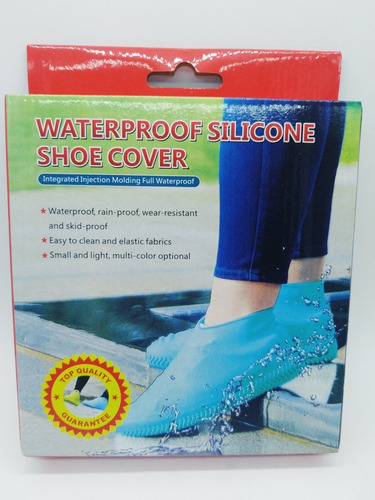 Capa Chuva Sapato Medio Tenis Moto Silicone Calçado Rave