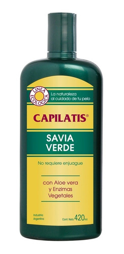 Savia Verde Capilatis Sin Enjuague