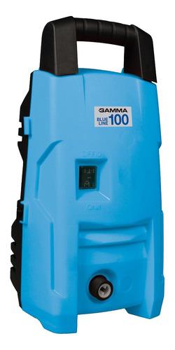 Hidrolavadora Gamma Máquinas Blue Line G100 De 1200w Con 90bar De Presión Máxima 220v