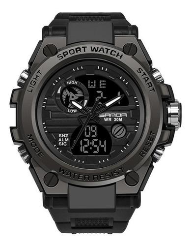 Relógio Desportivo Masculino Sanda 739 Multifuncional Imperm