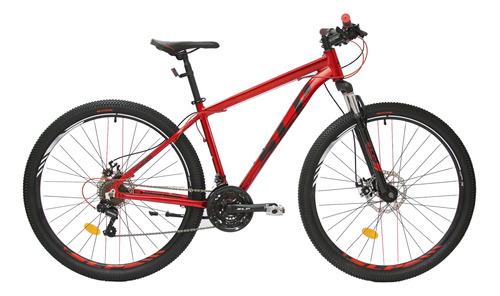 Mountain Bike Slp 25 Pro R29 20  21v Frenos De Disco Mecánico Cambios Shimano Tourney Tz31 Y Shimano Tourney Tz500 Color Bordó