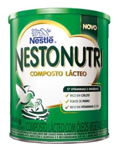 Fórmula Infantil Em Pó Nestlé Nestonutri Composto Lácteo Em Lata 800g