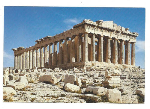 Postal Del Partenon,  En Atenas, Grecia Para Coleccionistas