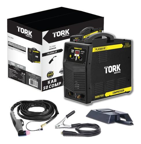 Inversora Tork Corte Plasma 220v Compressor Embutido Kab 50a