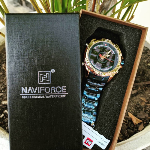 Relógio De Luxo Naviforce 9170