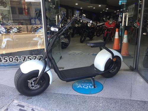 Scooter Electrico Cronos  1000w Frenos A Disco Bansai Motos