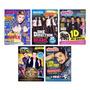 Kit 5 Posteres Justin Bieber One Direction Luan Santana
