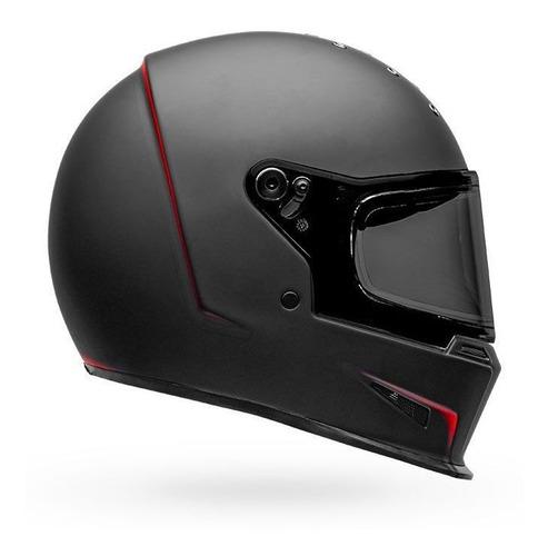 Capacete Bell Eliminator Vanish Matte Black Red Integral