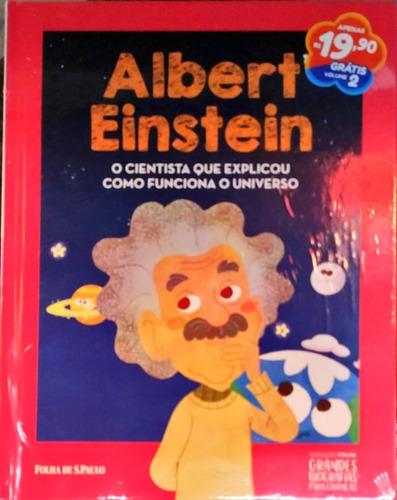 Coleção Folha Grandes Biografias Para Crianças Vol. 01 E 02