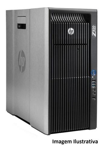 Workstation Hp Z820 2 Xeon Octacore  32gb 240gb Ssd + 1tb