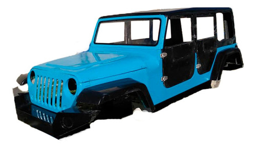 Carrocería Jeep Wrangler Replica
