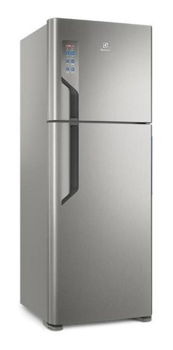 Heladera Frost Free Electrolux Tf56 Acero Inoxidable Con Freezer 474l 220v