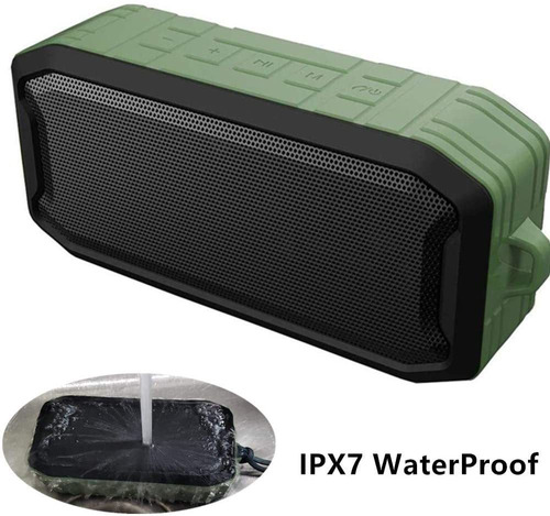 Altavoz Bluetooth A Prueba De Agua, Altavoz Portátil T...