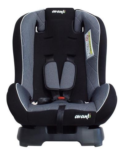 Butaca Infantil Para Auto Avanti Flyer Negro Y Gris