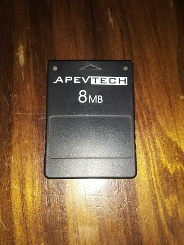 Memory Card Ps2 8mb Generica Apevtech