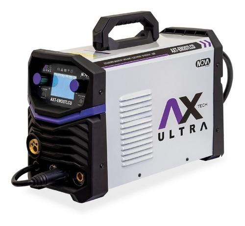 Soldadora Inverter Axtech Axt-em207lcd 60hz 110v/220v