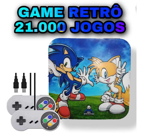 Super Game Tv Box 21.000 Jogos