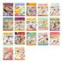 Kit 5 Revistas Ponto Cruz & Crochê Banho Editora Central