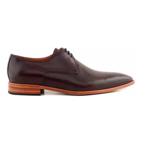 Zapato Hombre Cuero Briganti De Vestir Suela - Hcac00775 Ch