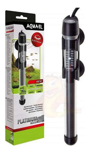 Termostato Platinium Heater Aquael 200w Aquários Até 200l