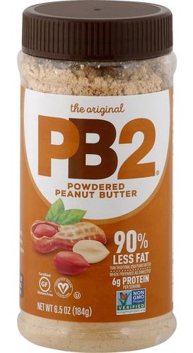 Pb2 Polvo De Crema De Cacahuate 184g Importado