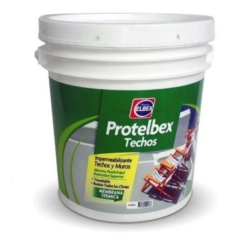 Membrana Impermeabilizante Techos Y Muros Protelbex 20 Kgs.