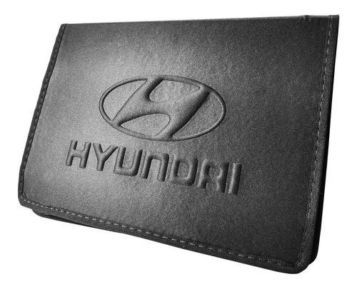 Porta Manual Do Proprietário Documentos E Chave Hyundai Hr