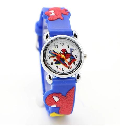 Relógio Infantil De Pulso Criança Personagem Homem Aranha
