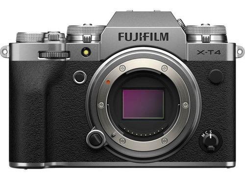 Câmera Fujifilm X-t4 Mirrorless Prata (somente Corpo)