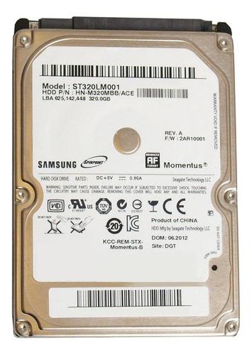 Disco Rígido Interno Samsung Spinpoint Momentus St320lm001 320gb