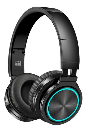 Fone De Ouvido Bluetooth Sem Fio Fone Tf E Rgb Com Micr-b12