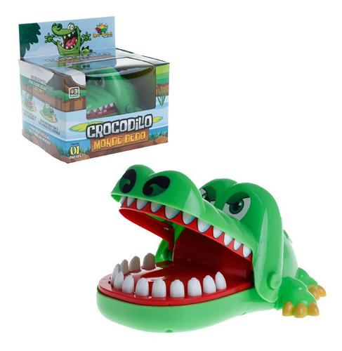 Jacaré Brinquedo Jogo Desafio Dentista Morde Dedos Crocodilo
