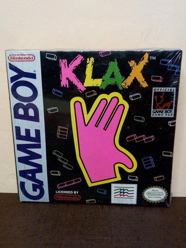 Klax Para Game Boy Nintendo Lacrado Na Caixa 1991 Raridade