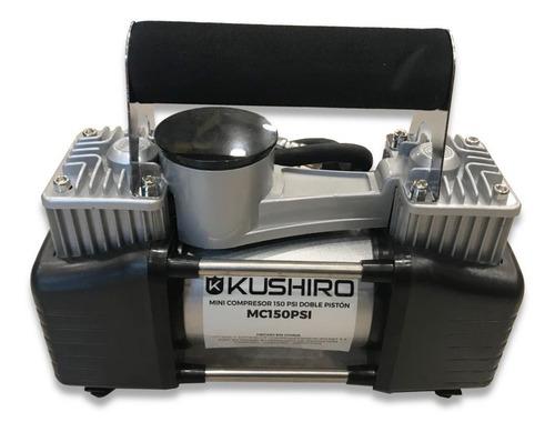 Compresor De Aire Mini Eléctrico Portátil Kushiro Mc150psi 12v